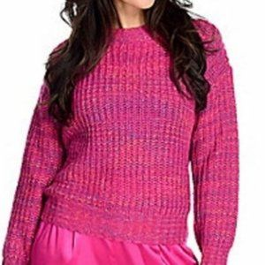 Band of Gypsies pink knit sweater - XS